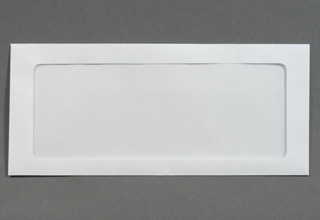 FULL VIEW WINDOW ENVELOPES White #10  4-1/8 x 9-1/2