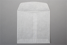 GLASSINE ENVELOPES Translucent 5-1/2 x 5-1/2