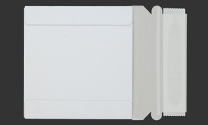 RIGID ENVELOPES White 5-1/4 x 5-1/4