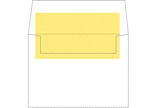 DIY POP-TONE ENVELOPE LINERS Banana Split A2  4-3/8 x 5-3/4